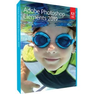 Adobe Photoshop Elements 2019 (DVD/Digital, Mac & Windows)