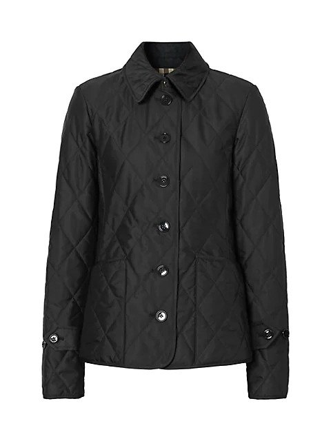 Fernleigh 绗缝保暖外套