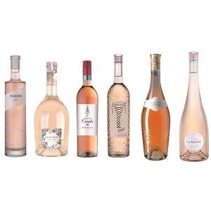 €39.9/6瓶 合€6.65/瓶法国rosé气泡酒 春夏傍晚小酌一杯 享受惬意的生活