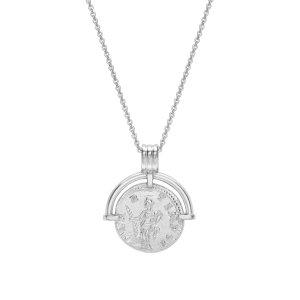 Missoma银色硬币项链