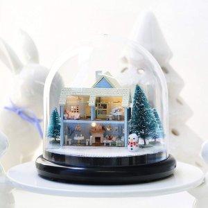 低至7折 $20.99起Amazon 微型小屋 DIY手工套装 送闺蜜走心的圣诞礼物