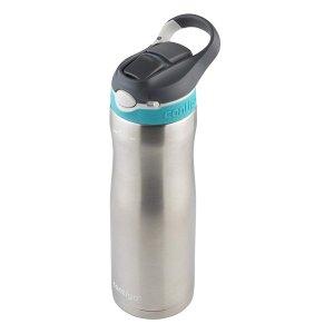 $12.33 (原价$19.99)Contigo 一键开合自动锁口不锈钢保温水壶