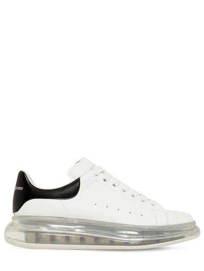 45MM AIR SOLE 透明底小白鞋