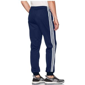 e7284ef088bc7 adidas Men's Athletics Essential Tricot 3 Stripe Tapered Pants ...