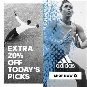 5折起+额外8折!£24入鹿晗同款外套最后一天:adidas 官网季末大促 精选折上折每日更新