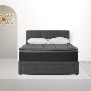 ZINUS可收纳床架和床垫套装 Queen
