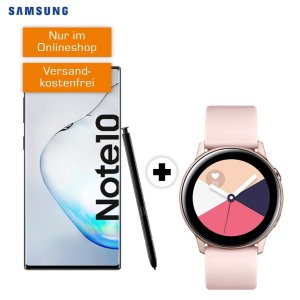 月租26.99欧 包月电话+6GB LTE一次性购机费送Galaxy Note 10 + Watch Active + Buds