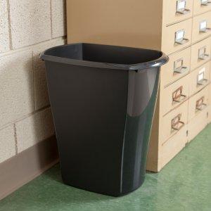 Sterilite, 10 Gal./38 L Rectangular Wastebasket, Case of 6