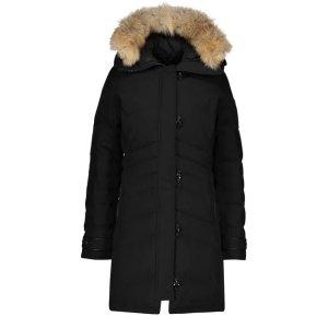 Canada Goose官网$1095,码全Lorette 派克大衣 两色选