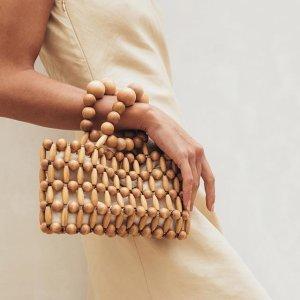 低至5折 封面款$80CULT GAIA 竹篮包、编织鞋热卖 炎炎夏日中的一抹清凉