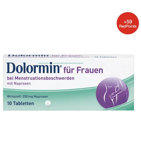 10片折后€6.62 痛经神器补货:Dolormin 经期止痛片 一片缓解8-12小时 经期疼痛不是事!