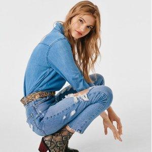 低至5折 变身大长腿Top Shop 精选牛仔裤热卖