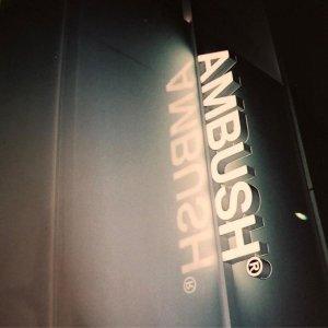 3折起 不对称卫衣直降$300+AMBUSH 时尚专场 收Logo上衣、个性配饰