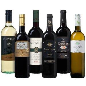 6.1折 优惠价€36.99收6支装西班牙葡萄酒品鉴套装 享受西班牙所带来的美丽
