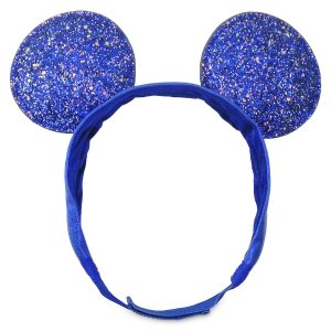 DisneyMickey Mouse Adjustable Ear Headband – Wishes Come True Blue | shopDisney