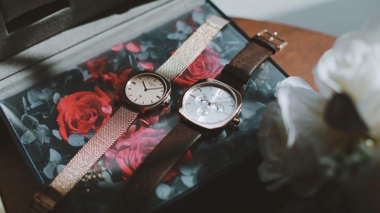 英国ADEXE情侣手表礼盒,浪漫又有意义的情人节礼物