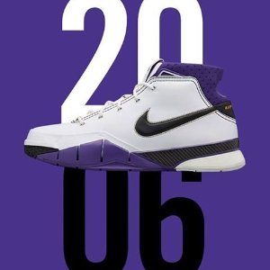 1月22日美东十点整 荣耀回归梦回2006  随科比斩下惊天81分的ZK1复刻球鞋 它来了