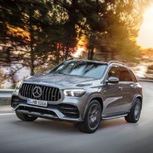 4Matic+系统,涡轮直六配电机奔驰官宣 2020 Mercedes Benz GLE 53 AMG