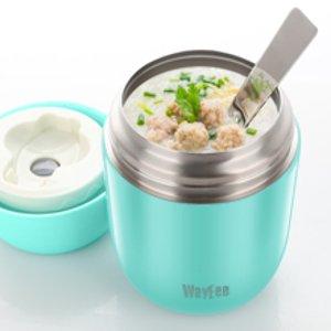 折后€18.99 附送折叠钢勺Insulated 保温饭盒热促 层层密封 长效保温