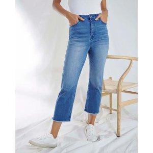 Eco Mid-Rise Straight Leg Jeans