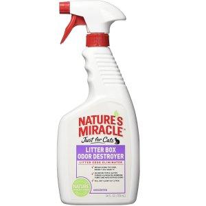 Nature's Miracle 猫砂盆除味剂 24oz