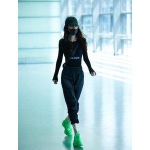 BalenciagaAngelababy同款!6折荧光绿老爹鞋