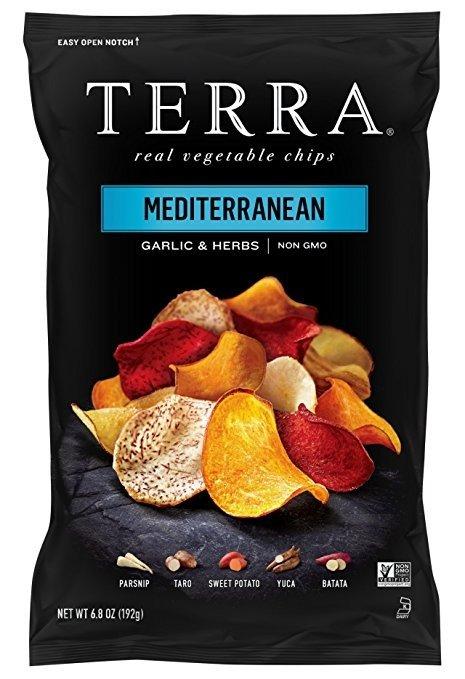 地中海口味薯片6.8盎司