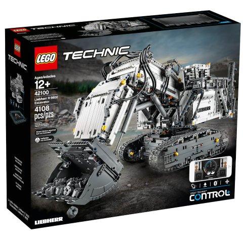现价£259.99(原价£399.99)乐高科技组 利勃海尔挖掘机R 9800 降价