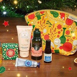 5折起收圣诞日历!送封面礼包L'occitane 欧舒丹官网薅羊毛!送旅行套装!还有超值换购!