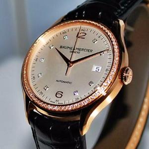 $4395Baume and Mercier Men's Clifton Watch  Model: MOA10194