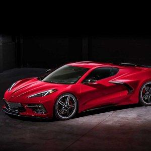 中置后驱 5万9真香售价公布 2020 Chevrolet Corvette 高性价比跑车