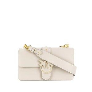 Pinkoplaque-embellished shoulder bag