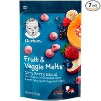 酸奶溶豆 混合莓口味 1盎司*7袋