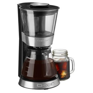 Cuisinart - 7-Cup Cold-Brew Coffee Maker - Black stainless