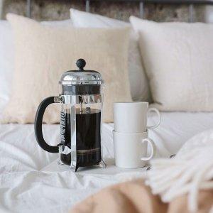 6折起 封面款$29Bodum 丹麦设计美学 咖啡茶具等热促