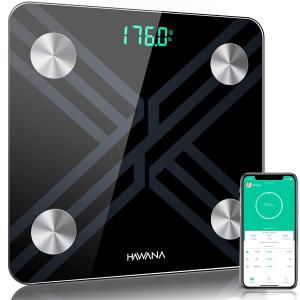 HAWANA Large Size 28x28cm Digital Body Weight Scale