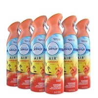 Febreze 空气清新剂 夏威夷清香型 6瓶装