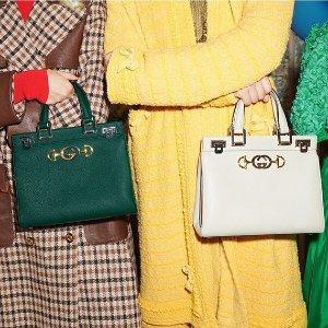 定价优势+满额免邮Gucci 美包专场热卖,收经典刺绣酒神包、Sylvie包包
