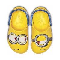 Crocs 儿童小黄人鞋,不对称设计