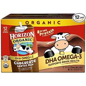 Horizon Organic巧克力DHA有机奶 8oz 12盒
