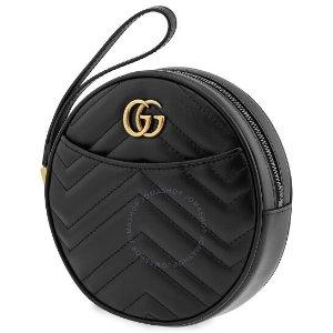 GucciGG Marmont Zip零钱包