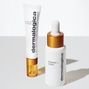 $123(价值$183)送MUFE散粉中样上新:Dermalogica 维C亮活美白精华2件套 恢复肌肤光泽