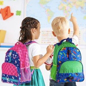 低至5折 $6.99起Stephen Joseph 儿童背包、便当盒、水壶、运动器材等优惠