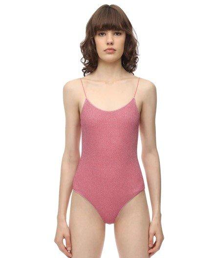 连体式泳衣