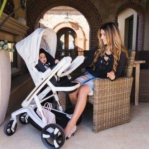 8折 全球首款自动刹车童车Milkbe Lulaby 高端儿童推车特卖 给宝宝不一样的推乘感受