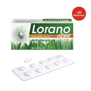 7片装仅€1.86Lorano 超有效的过敏药!快速缓解瘙痒、泛红、寻麻疹