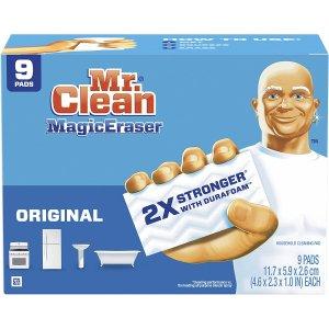 Mr Clean Magic Eraser Original, , 9 Count x2