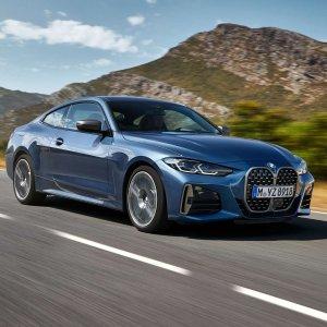 全新外观 超大格栅2021 BMW 4系轿跑全新发布