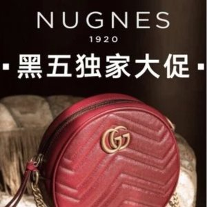 独家7折 €66收CDG小爱心啦Nugnes 黑五大促开启 Gucci、BBR、麦昆经典款都参加