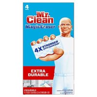 Mr. Clean 万能清洁海绵 4个